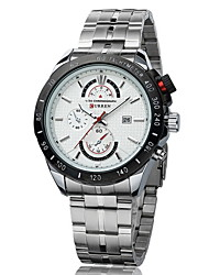 Men's Racing Style Dress Watch Japanese Quartz Stainless Steel Strap Cool Watch Unique Watch