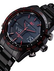 ASJ Luxury Brand Digital Electronics Sport Watch Full Stainless Steel Outdoor Diving Army Male Wrist Watch Cool Watch Unique Watch