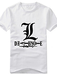 Costumi Cosplay-Yagami Raito-Death Note-T-shirt