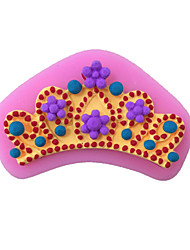 Crown Style Sugar Candy Fondant Cake Molds  For The Kitchen Baking Molds