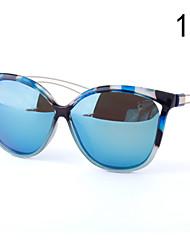 Óculos de Sol Mulheres's Elegant / Modern / Fashion Lente Polarizada / Caixa de Vidros / Pano de limpeza Olho de GatoPreta / Branco /