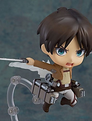 Attack on Titan Eren Jager PVC Figures Anime Action Jouets modèle Doll Toy