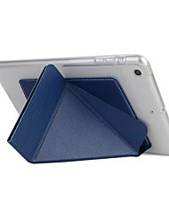 Smart Cover para iPad Smart Case 6 transformador para ipad caso de couro TPU ar com funtion estande
