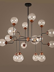 Contracted Creative Personality,Acted The Role Of American Led Glass Ball Sitting Room Dining-Room Magic Beans Droplight
