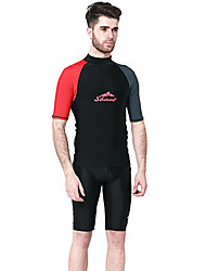 Others Men's Tops / Rash guard / Wetsuit Skin Diving Suit Ultraviolet Resistant / Thermal / Warm Dive Skins  3 to 3.4 mmWhite / Red /