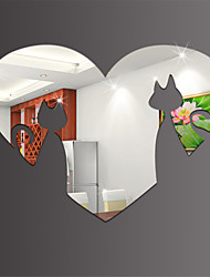 3D Environmental Mirror Stickers