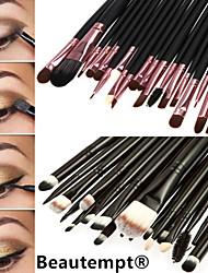 20PCS Professional Eyeshadow Makeup Brush Set Powder Foundation Eyeliner Lip Cosmetic Makeup Brush Set(2 Color Selected)