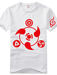 Inspired by Naruto Itachi Uchiha Anime Cosplay Costumes Cosplay T-shirt Print Short Sleeve T-shirt For Unisex