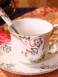 Ceramic Tea Cup 1pcs Afternoon Tea China British Style