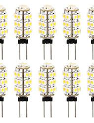 10 in 1 3528 G4 26 SMD caldo lampada bianca lampadina dell'automobile luce 3000-3500K (DC12V)