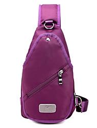 Bolsa de Ombro / Bolsa Corpo Cruz-Feminino-Casual / Ao Ar Livre-Outros Tipos de Couro-Roxo / Azul / Preto / Colorido