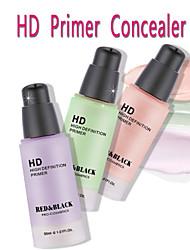 3 Base Molhado / Mate / Mineral Liquido Humidade / Branqueamento Rosto Verde / Roxa / Rosa