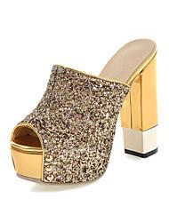 Women's Shoes Chunky Heel Heels / Peep Toe / Platform / Slingback / Slippers Sandals Party & Evening / Dress / Casual