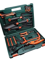 15-piece Black Garden Tool with Box