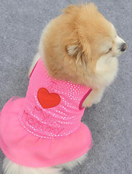 Sweety Comfortable Embroidered Pet Dress