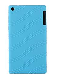"""borracha de silicone tampa da caixa da pele gel para guia Lenovo 2 a7-30 7 """"tablet (cores sortidas)"""
