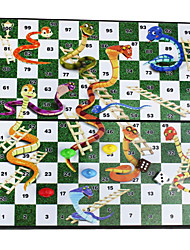 образовательные портативные складные магнитные змеи& лестницы Столешница стола настольные игры путешествия