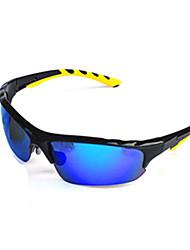 Gafas de Sol hombres / mujeres / Unisex's Clásico / Deportes / Moda Rectángulo Negro Gafas de Sol Media Montura