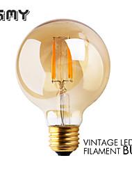 1 pç GMY E26 3W 4 COB ≥300 lm Branco Quente G80 edison Vintage Lâmpadas de Filamento de LED AC 110-130 V