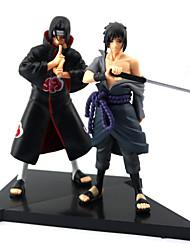 Naruto Sasuke Uchiha PVC Figuras de Ação Anime modelo Brinquedos boneca Toy