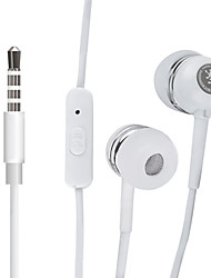 HARBER S-20 In-Ear High-Performance Headphone with Remote and Mic for MP3 Players, XIAOMI and IPODS