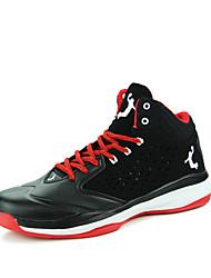 Sapatos Masculinos-Tênis Social / Sapatos para Esportes-Preto / Amarelo / Branco / Cinza-Couro Envernizado-Ar-Livre / Casual / Para