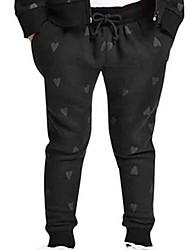 Pantaloni Girl Inverno Cotone Nero