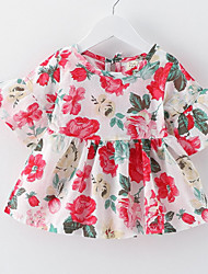 Girl's Floral Sundress Lovely Baby Korean Kids Clothes Dresses