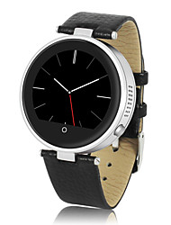 Unisex's Smart Bluetooth Sync Round Dial Metal & Leather Band  Wrist Watch(Assorted Color)