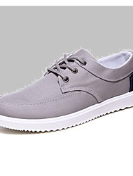 Men's Shoes Outdoor / Work & Duty / Athletic / Casual Canvas / Fabric Fashion Sneakers / Athletic Shoes Blue / Gray