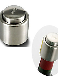 Stainless Steel Vacuum Sealed Red Wine Storage Bottle Stopper Plug Bottle Cap Wine Stoppers