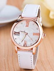 Sport Watch Dress Watch Fashion Watch Wrist watch Quartz Genuine Leather Band Charm Casual Multi-Colored