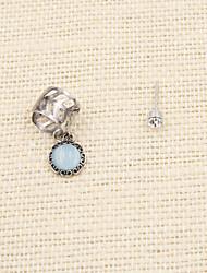 Earring Drop Earrings / Ear Cuffs Jewelry Women Wedding / Party / Daily / Casual / Sports Alloy / Resin 1set Silver