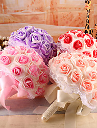 Bouquets(Rose / Rouge / Pourpre / Champagne,Mousse)Roses