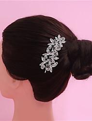 выделяя невесты перлы головной убор расчески гребень сплава корону невесты ювелирных изделий венчания