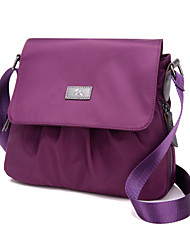 Women Nylon Hobo Shoulder Bag / Satchel / Storage Bag / Carry-on Bag-Purple / Blue / Black