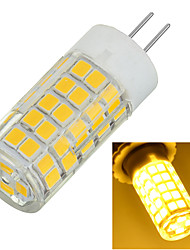 Marsing® G4 8W 700lm 3500K/6500k 64x2835 LED Warm/Cool White Light Bulb Lamp (AC220-240V)