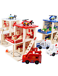 Fire Department ,the Police Puzzle for Kids(3-6 years old).
