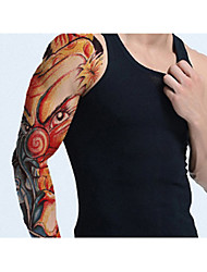3 Sheets Extra Large Temporary Tattoos, Full Arm