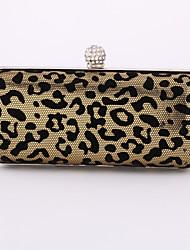 Minaudière / Sac de soirée / Portefeuille / Porte-chéquier / Mobile Bag Phone-Or / Argent-Minaudière-Métallique / Similicuir-Femme
