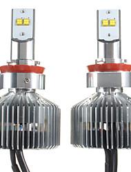 2pcs 90w touareg Auto-LED-Scheinwerfer-Kit h1 h3 h7 H11 Auto-Scheinwerfer elantra Auto LED LED-Scheinwerferlampen