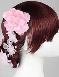 Women's Fabric Headpiece - Wedding / Casual / Outdoor Hair Pin 3 Pieces
