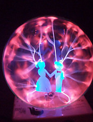 Magic Glass Plasma Ball Sphere Lovers 4-Inch Electronic Magic Ball Creative Crafts Ornaments Birthday Gift for Kids