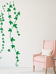 Romance / De moda / Florales Pegatinas de pared Calcomanías de Aviones para Pared,PVC S:32*74cm/ M:50*118cm/ L:66*155cm