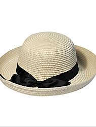 Unisex Sombrero para el sol Vintage / Bonito / Fiesta / Trabajo / Casual-Primavera / Verano / Otoño / Invierno / Todas las Temporadas-Paja