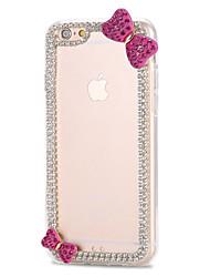 iPhone5s case iPhone5phone shell diamond bow all-inclusive 5s TPU phone shell diamond shell