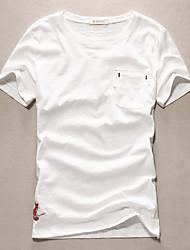 The 2016 men's spring and summer T-Shirt Tee Shirt young Japanese color shirt t-shirt t-shirt men tide