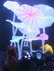 Aquarium Decoration Ornament / Coral Artificial Plastic
