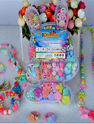 DIY crianças de treinamento pulseiras de tecelagem ambliopia manuais / caixa de presente educacional contas de brinquedo