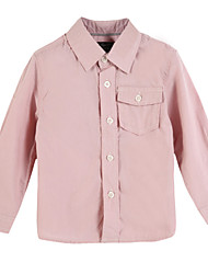 Tee-shirts Fille de Coton Printemps / Automne Rose